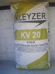 Kleyzer kv20 - Клей для плитки базовый