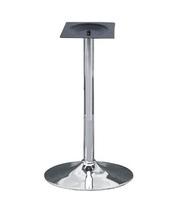 База для стола хромированная,  высота 72 см