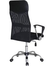 Офисное кресло с высокой спинкой  Оливия H,  цвет черный - foto 1