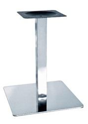 База для стола Нил,  нержавейка,  основание 50х50 см,  высота 72 см