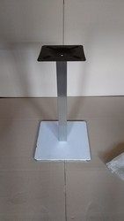 База для стола Нил,  нержавейка,  основание 50х50 см,  высота 72 см - foto 0