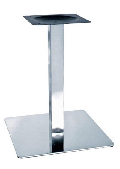 База для стола Нил,  нержавейка,  основание 50х50 см,  высота 72 см - main
