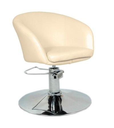 Кресло парикмахерское Мурат Р,  цвет бежевый - main