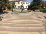 Тротуарная плитка Старый город, ромб , квадрат