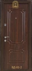 Входные стальные двери с порошковым покрытием оптом и в розницу - foto 0