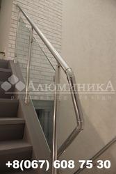 Алюминиевые перила,  ограждения,  поручни,  лестницы