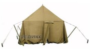 брезент, тент, навес брезентовый, палатка армейская любых размеров, пошив  - foto 6
