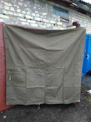 брезент, тент, навес брезентовый, палатка армейская любых размеров, пошив  - foto 13