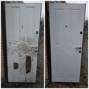 Реставрация дверей,  установка замков